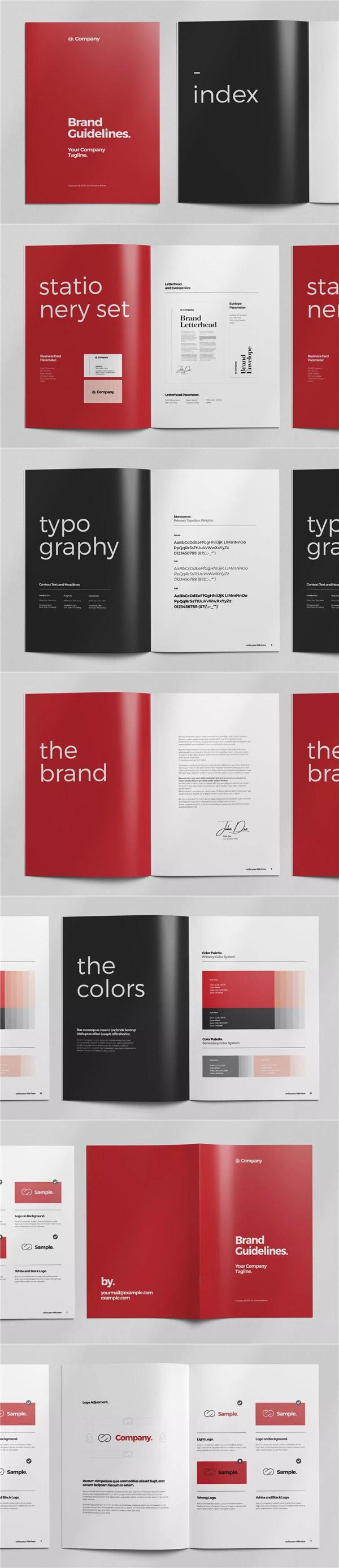 品牌VI设计指南手册