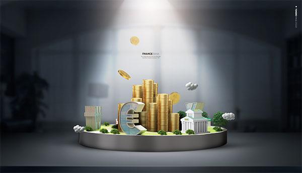 银行金融行业海报