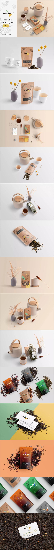茶叶品牌VI样机