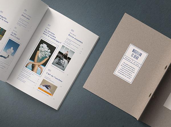 杂志画册样机模板