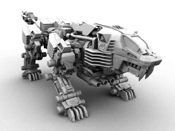 �C器野�F3D模型