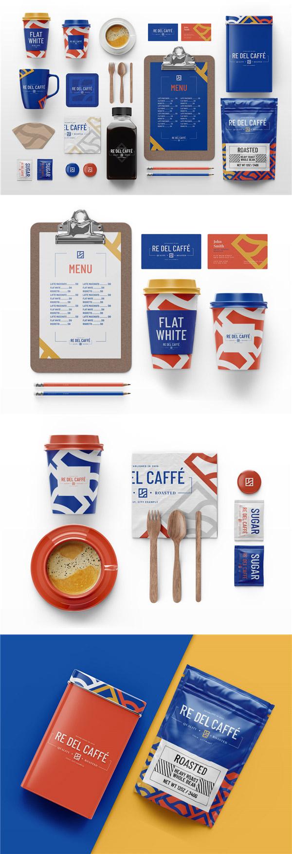 咖啡VI品牌样机