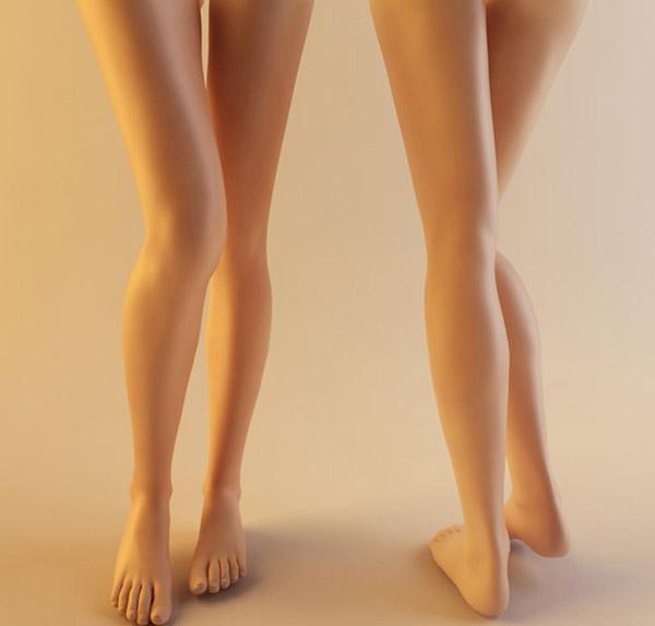 性感美腿模型