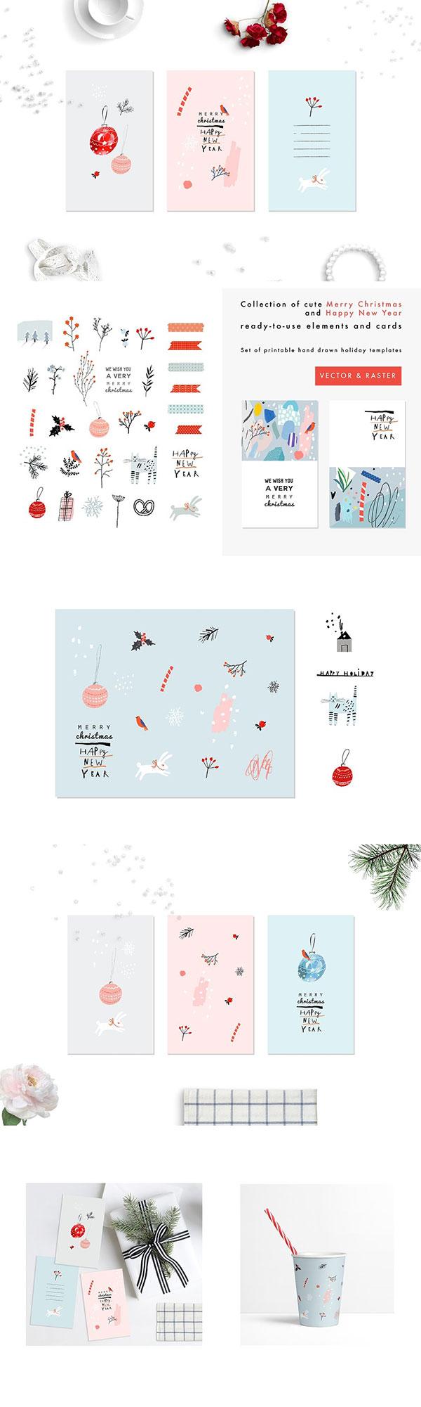 圣诞卡片信纸