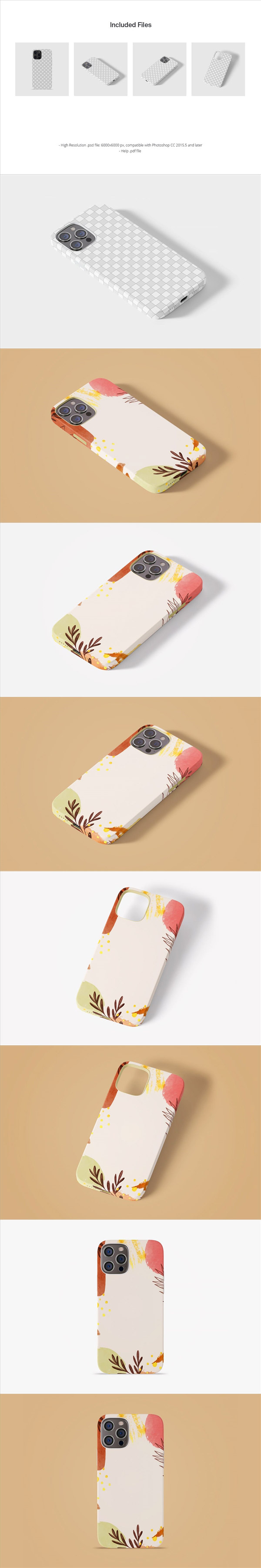 iPhone12手机壳样机