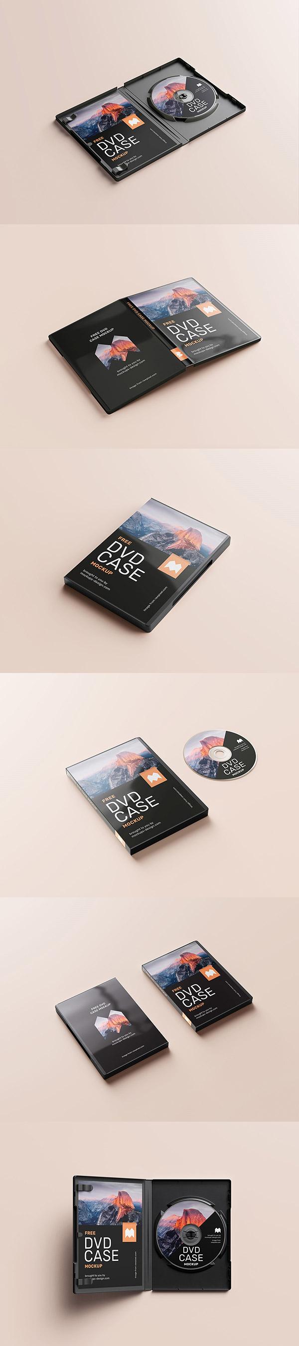 精美DVD包装盒样机