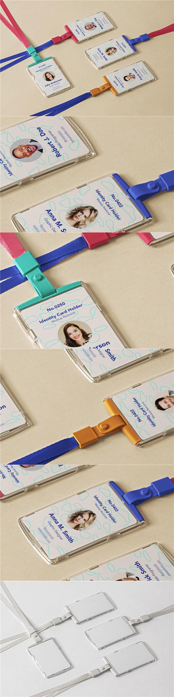 工作证吊牌ID卡样机