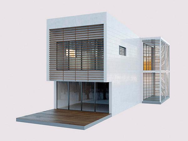 �F代房屋建筑模型