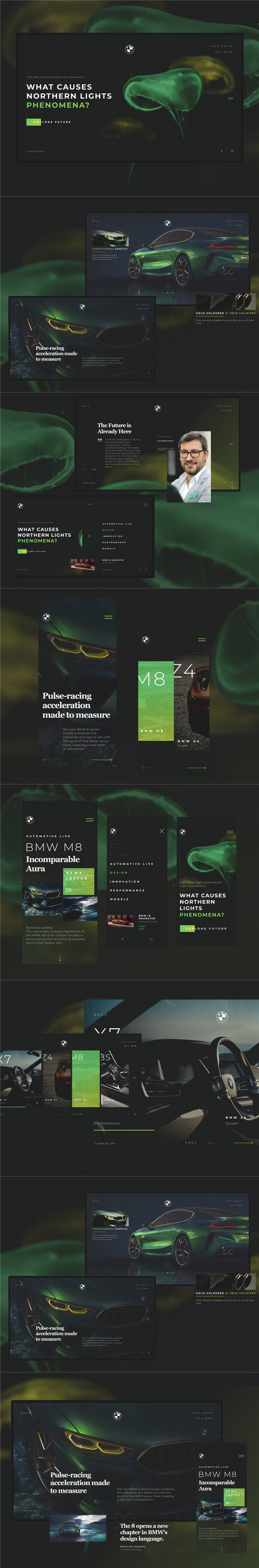 汽车WEB模板
