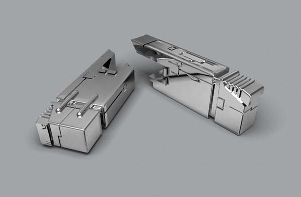 机器人电池3D模型