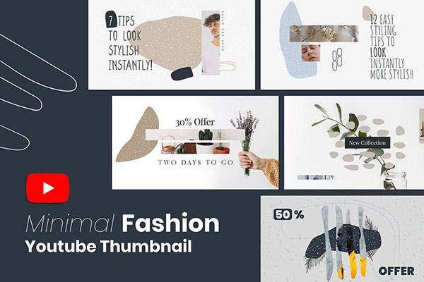 时尚广告网站模板