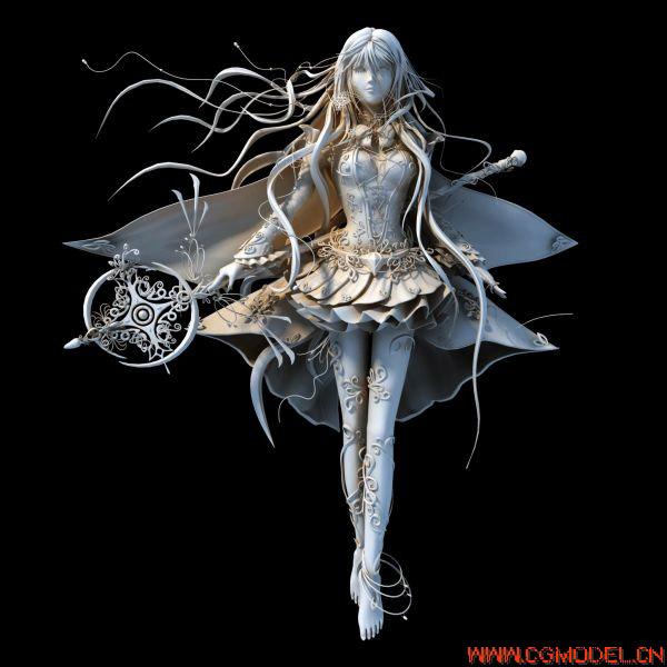 美少女战士3D模型