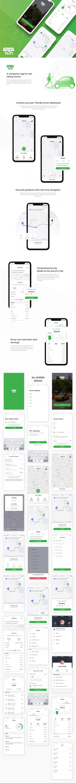 打车app模板