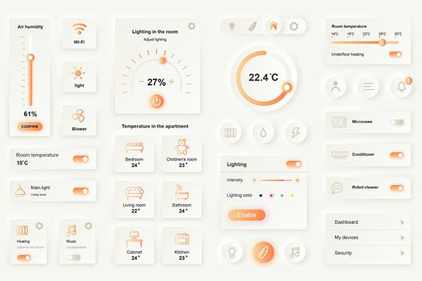 智能家居App设计元素