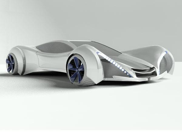 跑车3D模型
