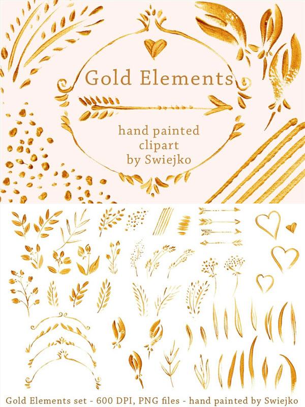 黄金设计元素