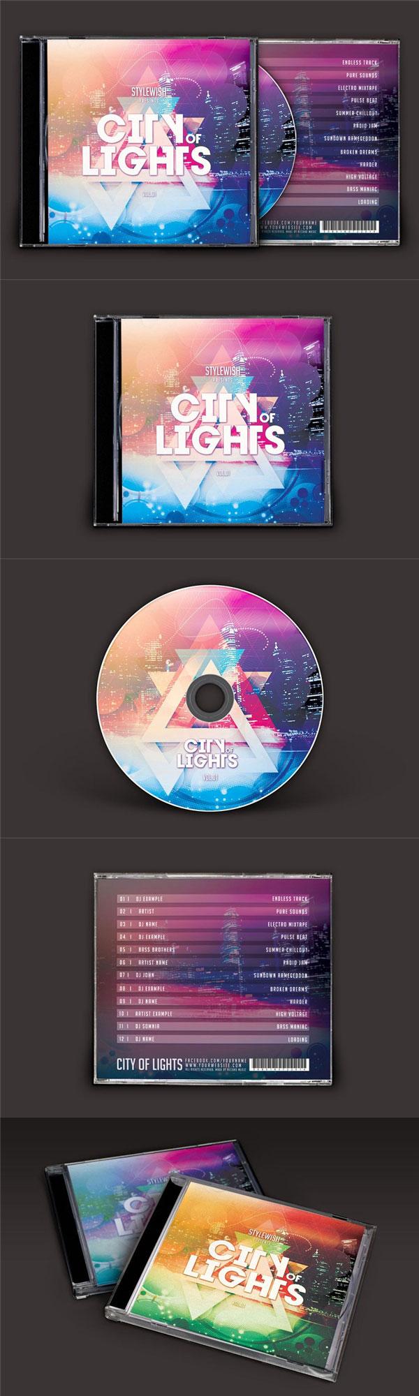 城市之光CD封面