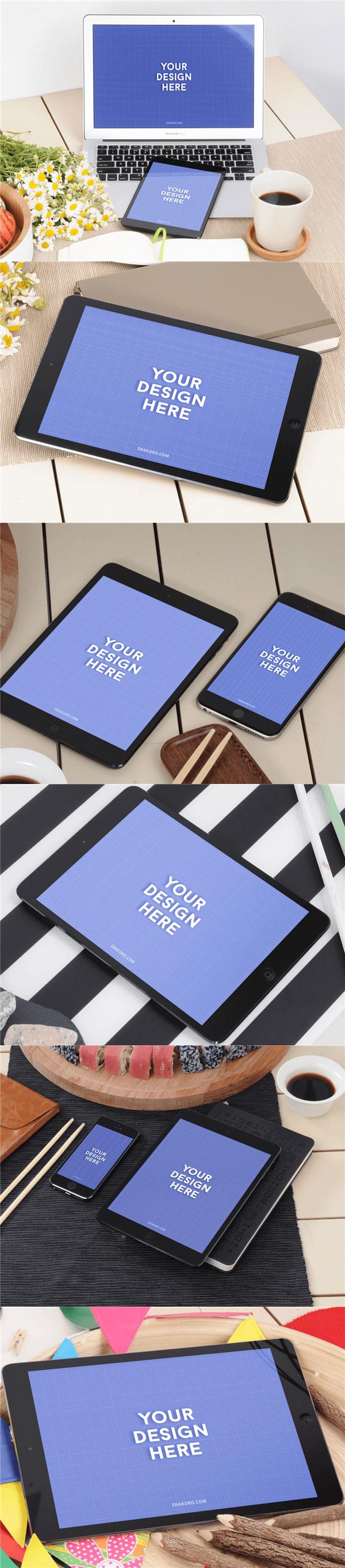 iPad样机场景