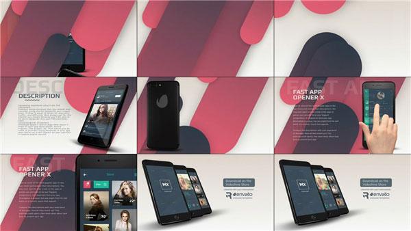App介绍视频模板