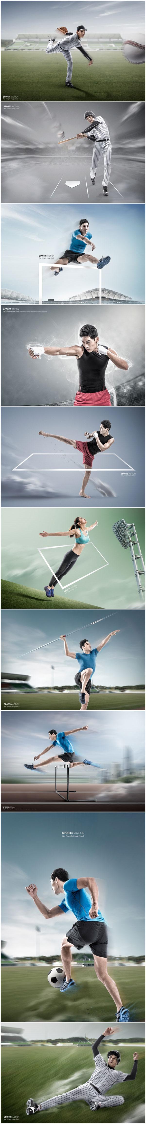 速度运动海报