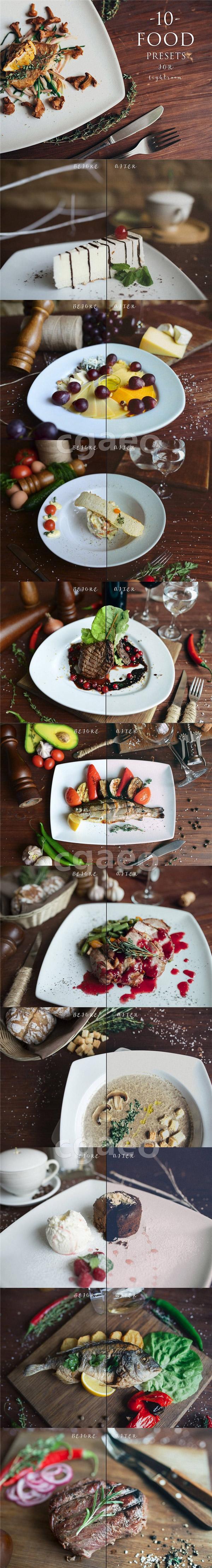 食品摄影LR预设