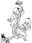 中国民间矢量图库人物