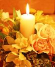 婚纱-蜡烛