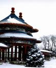天坛-双环亭雪景