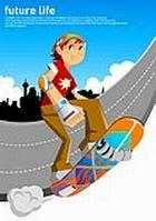 未来生活-滑板运动