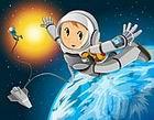 未来生活-漫游太空