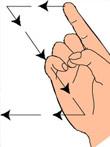 语言记号、动作