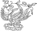 中国古典矢量凤凰_4