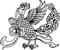 中国古典矢量凤凰_55
