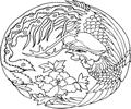 中国古典矢量凤凰_6