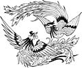 中国古典矢量凤凰_74