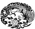中国古典矢量凤凰_77