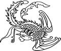 中国古典矢量凤凰_9