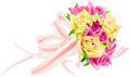 矢量玫瑰花_1