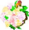 矢量玫瑰花_18