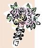 矢量玫瑰花_40