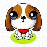 卡通苏格兰梗犬_1