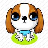 卡通苏格兰梗犬_2