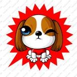 卡通苏格兰梗犬_8