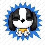 卡通苏格兰梗犬_13
