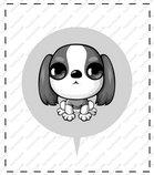 卡通苏格兰梗犬_32