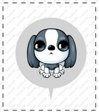 卡通苏格兰梗犬_33