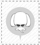 卡通苏格兰梗犬_37