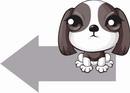 狗矢量图_175