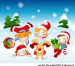 圣诞节矢量素材_5