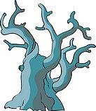 传统树木_123